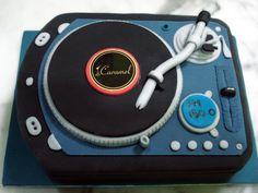 DJ Spin That Cake by Sliceofcake.deviantart.com on @DeviantArt