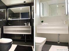 Musta vai valkoinen kylpyhuone | Adalmina's Secret