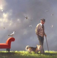 Approaching normal by Jimmy Lawlor - PRINT - The Keeling Gallery