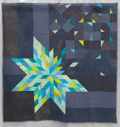Deconstructed LoneStar by Amy Struckmeyer Oak Park, Illinois - Chicago Modern Quilt Guild