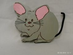 wooden mouse plaque made to order by UneekWoodenCrafts on Etsy