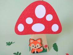 Caixa cone para decoração de sua festa.  #animaisdobosque #florestaencantada #woodland Lucas 2, Party, Enchanted Forest Maryland, Fox, 1 Year, Embellishments, Products, Haunted Forest, Receptions