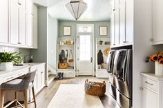 This Nashville Home Has Laundry Room Inspo for Days House, Home, Beautiful Homes, Laundry Room Inspiration, Room Inspiration, Laundry, Room Inspo, Indoor Bowling Alley, Great Rooms