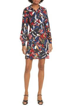 Looking for ba&sh Catty Long Sleeve Shirtdress ? Check out our picks for the ba&sh Catty Long Sleeve Shirtdress from the popular stores - all in one. Maxi Wrap Dress, Crepe Dress, Long Sleeve Silk Dress, Floral Evening Dresses, Dress The Population, Nordstrom Dresses, Jacket Dress, Shirtdress, Clothes For Women