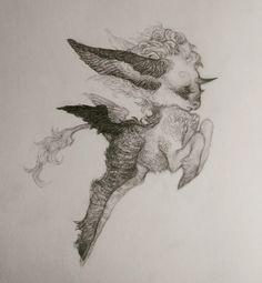 Leap by gawki Unicorn Art, Pretty Art, Aesthetic Art, Art Sketchbook, Cute Drawings, Traditional Art, Art Tutorials, Art Inspo, Art Reference