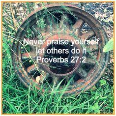 Proverbs so full of wisdom