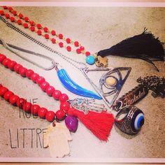 Amuletos de la Suerte en Rue Littre.