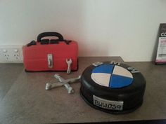 Tool Box and BMW cake
