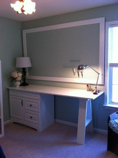 use a cabinet base for the drawers! and a saw horse!