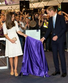 The Duke and Duchess of Cambridge on their visit the Royal Easter Show at Sydney Olympic Park. 18 Apr 2014