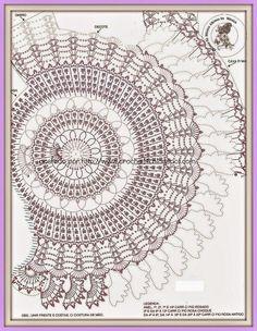 Encantadora blusa tejida con ganchillo, con original diseño circular. Te comparto los diagramas para que puedas realizarla
