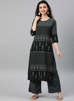 pamper the women in you with this beautiful black and grey faux crepe casual kurti. The print work personifies the entire appearance. (Slight variation in color, fabric & work is possible. Model images are only representative.) Latest Kurti Design HAPPY INDEPENDENCE DAY - 15 AUGUST PHOTO GALLERY  | 1.BP.BLOGSPOT.COM  #EDUCRATSWEB 2020-08-12 1.bp.blogspot.com https://1.bp.blogspot.com/-qjTWIPto5d8/W3N6EF_ZkQI/AAAAAAAAAe8/00fcwiT3EjgpGlGAI7dfVVqd3LgLfYigwCLcBGAs/s640/Independence-Day-GIF.gif
