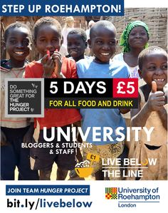 How much change could you make from £1 | Join The Hunger Project #belowtheline - millions are rising above the poverty line with a hand-up! http://www.thehungerproject.co.uk/getinvolved/live-below-the-line/ #university #lbtl #belowtheline #livebelowtheline #lblthp @lblthp
