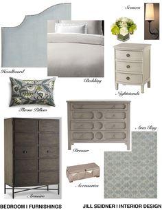 jill seidner | interior design: concept boards | living room