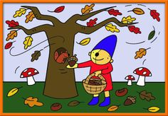 Plaatje Pompom Preschool, Seasons, Pom Poms, Pictogram, Calendar, Kid Garden, Seasons Of The Year, Kindergarten, Preschools