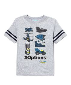 Another great find on #zulily! Gray 'Scribble Nauts Unmasked #Options' Tee - Boys by Isaac Morris LTD #zulilyfinds