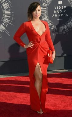 In love with this outfit by demi lovato on the video music awards carpet