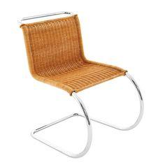 MR rattan chair (Knoll)