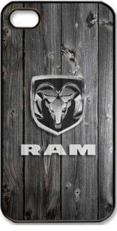 Ram Trucks Wood Grain iPhone 4/4s case.