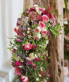 Brautstrauß lang