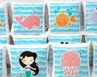 Lembranças fundo do mar meninas