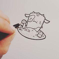 Das könnte das nächste Fimotierchen werden. #kastentier #smietz #kastenmonster #sketch #drawing