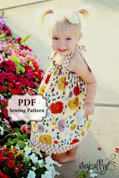 PDF Easy Halter Dress & Top Sewing Pattern by pitterpatternshop