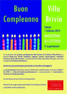 Locandina Buon compleanno Villa Brivio