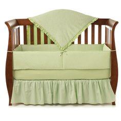 Have to have it. American Baby Company Heavenly Soft 4 Piece Crib Bedding Set - $103.99 @hayneedle