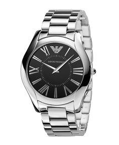 Emporio Armani Watch, Mens Stainless Steel Bracelet AR2022 - Mens Watches - Jewelry & Watches - Macys