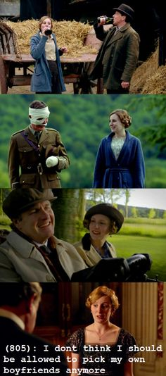 "Downton Abbey: No, Edith. Probably not. As is the running gag among the cast: ""Poor Edith!"""