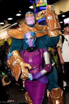 Nebula and Thanos