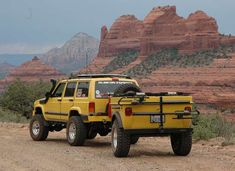 Jeep Cherokee Off Road Trailer Built For Off Road Camping By Tentrax.
