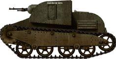 Sadurni de Noya, Republican tankette or Carro IGC Sadurni from the Industria de Guerra Cataluna 1937