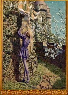 "Carlos Schwabe (1866-1926), ""Pelleas and Melisande"""