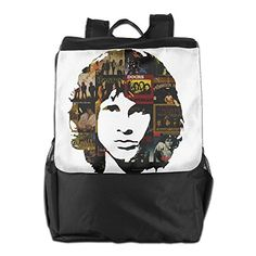 The Doors Rock Band Daypack Travel Backpack For Men Women Boy Girl * Check out the image by visiting the link. (This is an affiliate link)