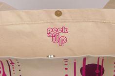 #Peekmeup #Online #Shop #Community #Rfid #Smart #Cloth #QR #Code #Bag  peekmeup.com