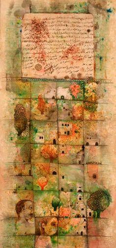 latroun, 2007 ~ mixed media (?) ~ by nabil anani
