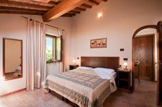 The rooms of Locanda le Volte - #CasaleMarittimo - #Tuscany