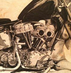 Easyriders Magazine - Motorrad & Co. David Mann Art, Motorbike Girl, Bobber Chopper, Easy Rider, Bike Art, Harley Davidson Motorcycles, Touring, Illustration Art, Baggers