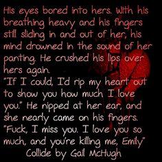 Gavin Blake ~ COLLIDE by Gail McHugh