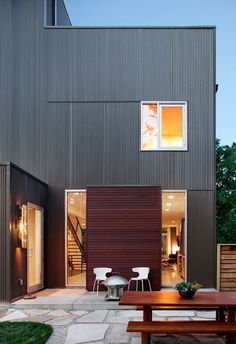 exterior cladding c forma blackjack house   Tiny House Ideas     Shepherds Residence   Modern   Exterior   kansas city   by Faust  Construction