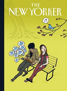Concept for a The New Yorker cover by Kyle T. Webster