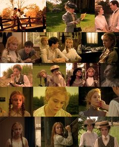 Anne of Green Gables and Anne of Green Gables: The Sequel picture collage