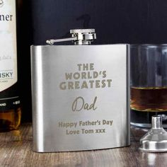 FREE pair matching The Big Day Mens Socks BRIDES FATHER Wedding 6oz Hip Flask