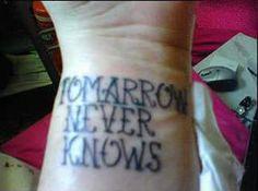 My BAD Tattoo - Stories of Regret