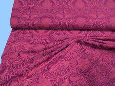 Bedruckter   SWEAT-STOFF   fuchsia/pink (510567) von STOFFLISI auf Etsy