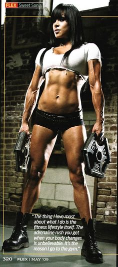 Fitness Form #Motivation #StrongOverSkinny #WomenLift2 Sonia Gonzales