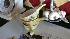 Vintage Pillivuyt Porcelain Sauce Dishes 3 Mustard by LaCassoulere
