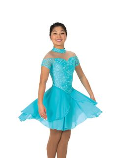 New Jerrys Ice Dance Figure Skating Dress 130 Tiffany Lace Made on Order Cute Dance Costumes, Dance Costumes Lyrical, Cool Costumes, Ice Dance Dresses, Prom Dresses, Formal Dresses, Figure Skating Dresses, Lace Making, Costume Dress
